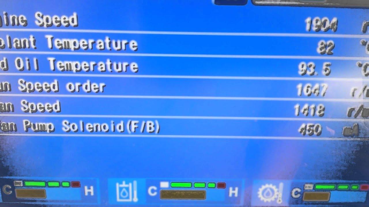 Komatsu D65 Dozer Fan Problem