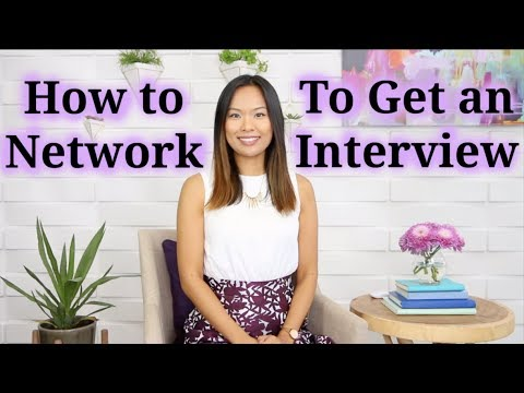 How To Network To Get An Interview (Networking For Introverts)