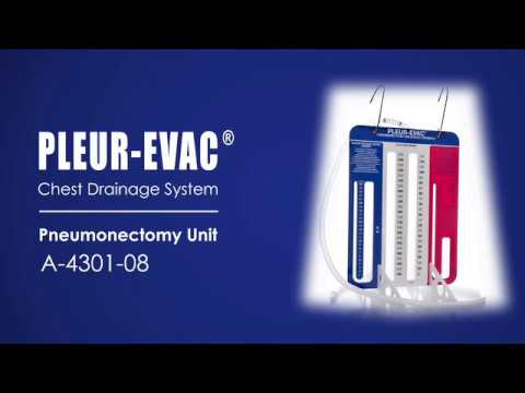 Pleur-evac® Pneumonectomy Unit - Overview, Setup Instructions, and Frequently Asked Questions