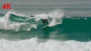 Surf Israel Point Break / Wave Surfing 4k video / גלישה ישראל
