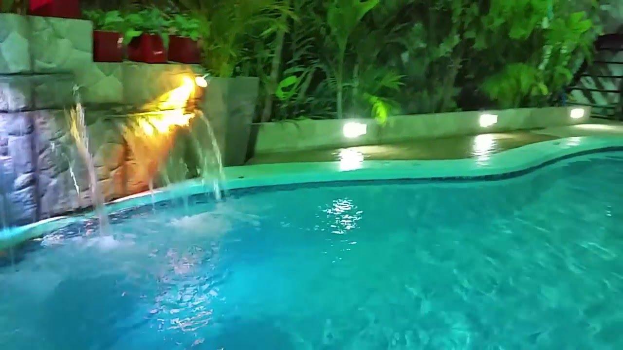 dise o y fabricacion de cascada doble con iluminacion led On iluminacion para cascadas