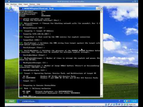 NSA PAYLOAD DEPLOYMENT TEST on Windows 2008 R2 SP1 x64