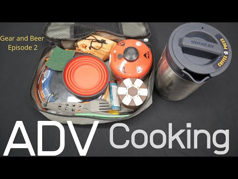 ADV Cooking Kit. 4K What To Bring On Your Next Trip (Gear And Beer Ep2) NV