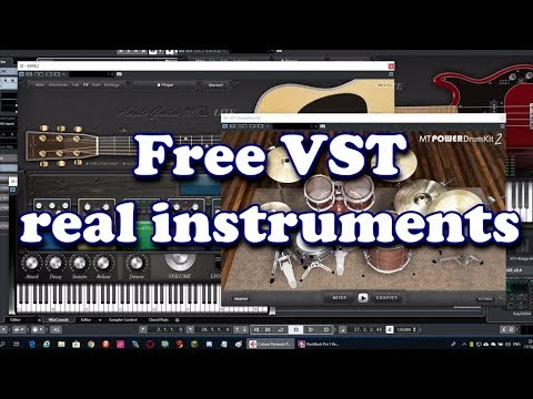 Free Realistic Instruments VST (2019)