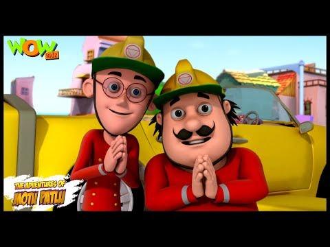 The Fire Fighter - Motu Patlu in Hindi