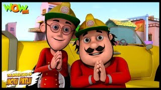 Motu Patlu Cartoons In Hindi | Animated cartoon | The fire fighter | Wow Kidz