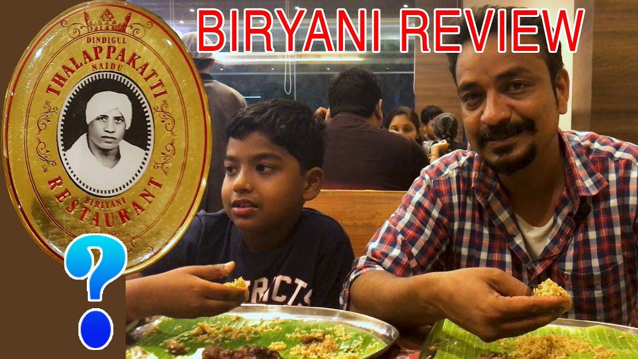 Dindigul Thalapakatti | Thalapakatti Biryani Review by Selva || பிரியாணி Review || Selva Food review