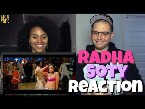 Radha - SOTY | Alia Bhatt | Sidharth Malhotra | Varun Dhawan REACTION