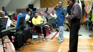 Dato' Dr. Ahmad Nawab Rehearsal bersama Orkestra P. Ramlee