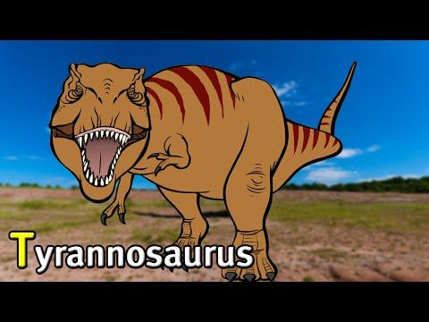Tyrannosaurus, T-REX KING with English Sub ★Genikids Dinosaur