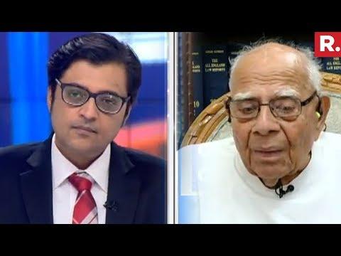 Arnab Goswami Speaks To Ram Jethmalani On Impeachment Politics