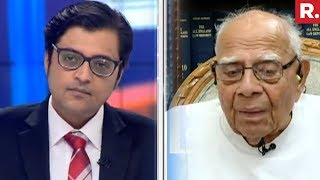 Arnab Goswami Speaks To Ram Jethmalani On Impeachment Politics