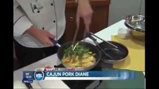 Cajun Pork Diane - Chef Tyler