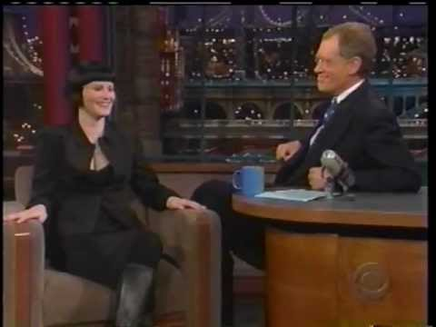 Jennifer Jason Leigh on Letterman 1/5/1999 promoting Cabaret