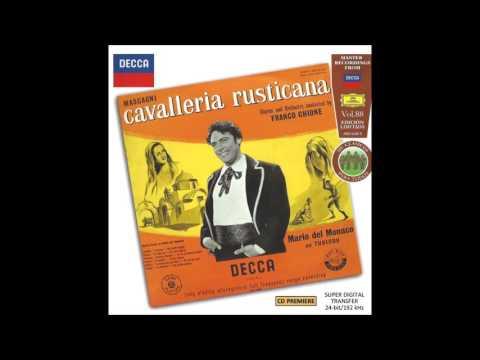 """Mario del Monaco in """"Cavalleria Rusticana"""" 1954"""