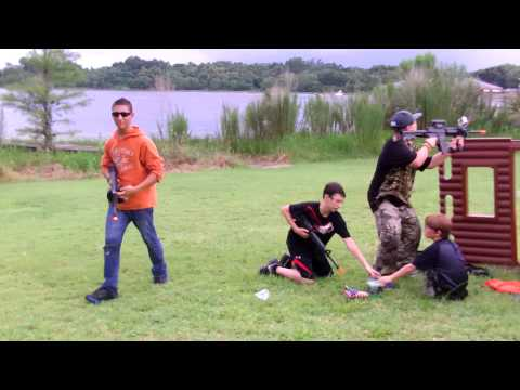 Airsoft capture the flag