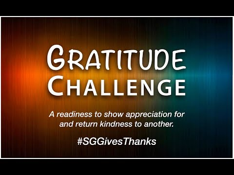 Gratitude Challenge - Spring Grove Area High School