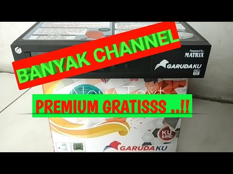 MATRIX GARUDA ORANGE BANYAK CHANNEL PREMIUM GRATIS #UNBOXING DAN #REVIEW