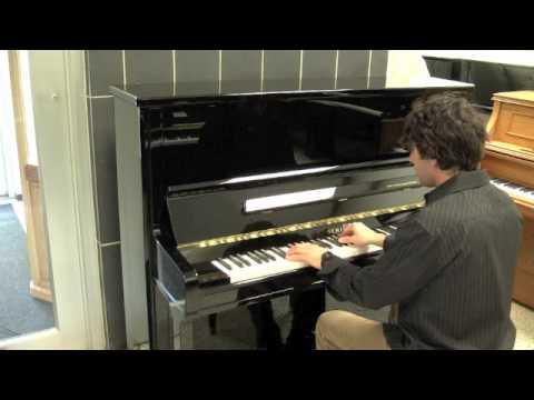 Schimmel Upright Piano Model C130 - Black Polish