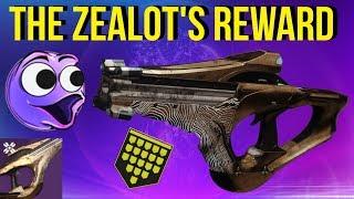 Zealots Reward - Garden Of Salvation Fusion Rifle - Destiny 2 Shadowkeep