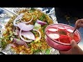 It's a Night Fast Food in Hyderabad | Spicy Egg Fried Rice Only @ 20 Rs Per Plate