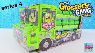 Bug Strike The Grossery Gang Series 4 Full Box 2 Pack Toy Review | PSToyReviews