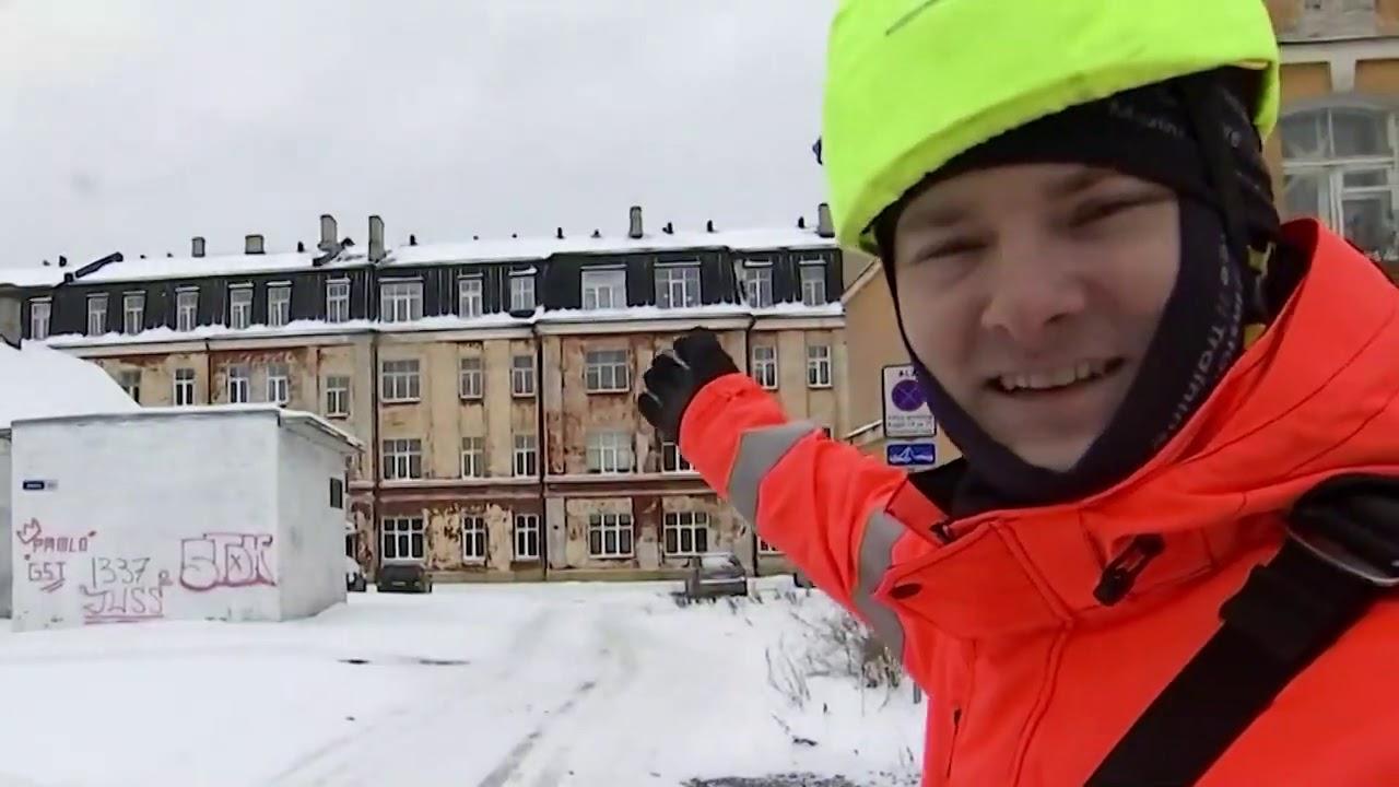 """""""Õhtu!"""" - Jüri riskib eluga, et kortermaja katuselt lund puhastada"""