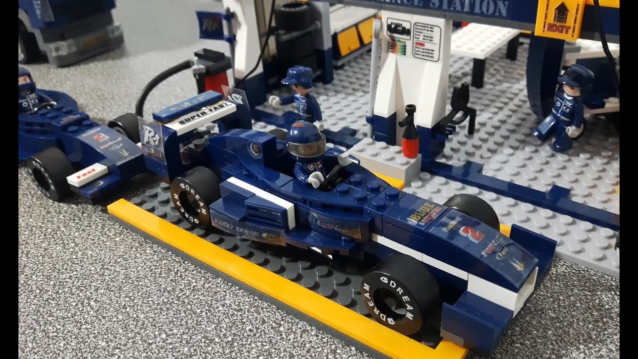 lego toys cars for kids video with f1 racing from banggood