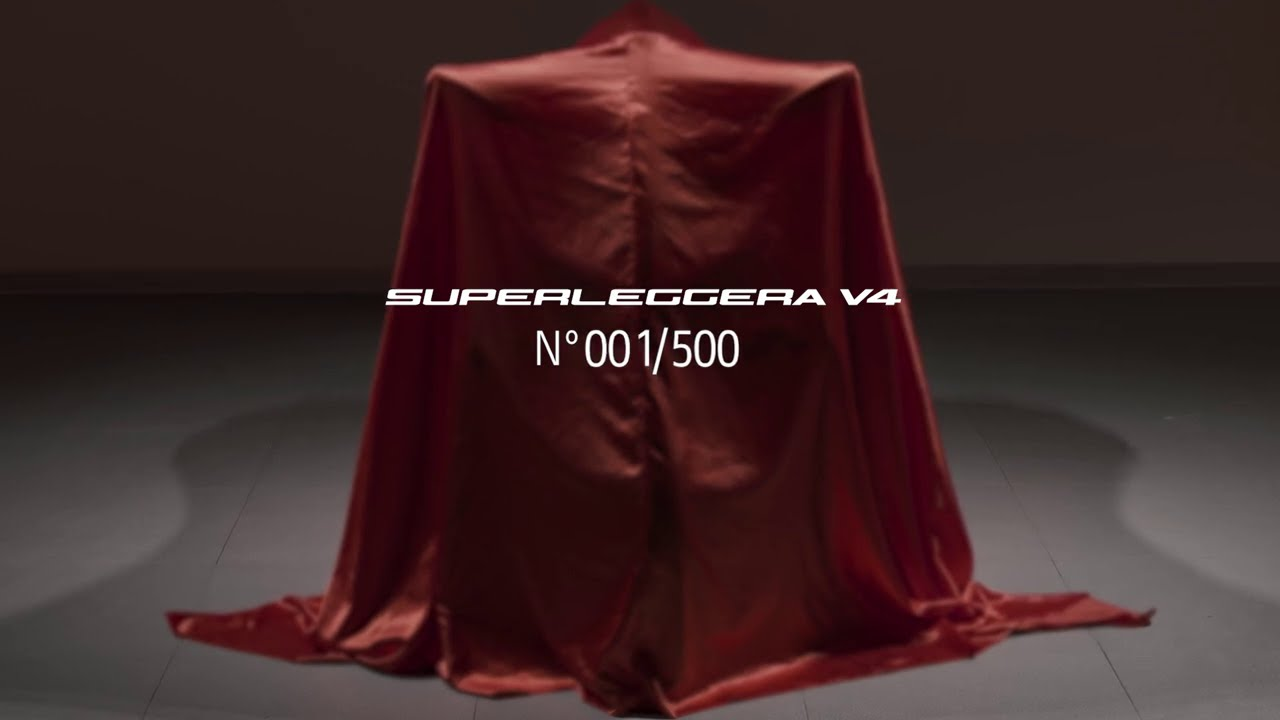 Delivering the Superleggera V4 N°001/500