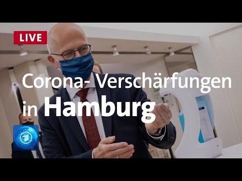 Hamburgs Bürgermeister Peter Tschentscher (SPD) äußert sich zu den Corona-Verschärfungen