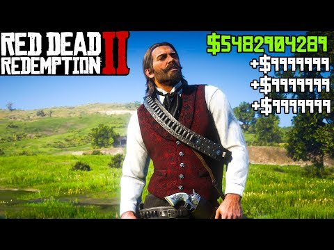 UNLIMITED MONEY, God Mode, & RDR2 Cheats! Red Dead Redemption 2 PC