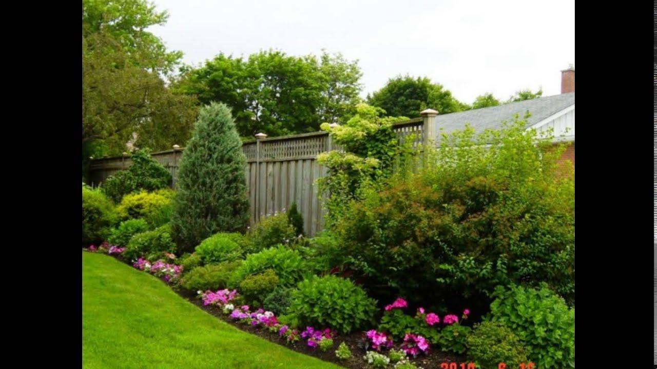 backyard landscape ideas landscape ideas for backyard youtube