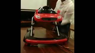 Product Session: - Babymate Baby Bed & Babymate Racer Pro Walker!!