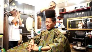 How To Style A HI-TOP FADE -ハイトップフェードの作り方- by 小林大地 (miles ground) Thumbnail