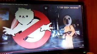 Лина смотрит длинное видео про белую собаку