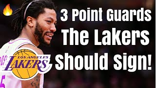 3 Point Guards the Los Angeles Lakers Should SIGN to Replace Lonzo Ball! | Anthony Davis Trade!