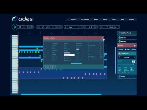 Odesi 2.0 OFFICIAL video: New Melody tools for your music production