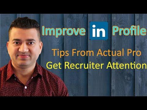 How To Make a Great LinkedIn Profile