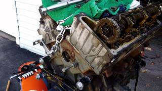 2002 ford explorer timing chain update 12 15 2012 rear cassette removal