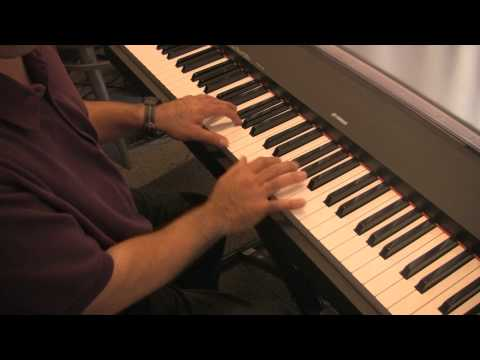 Jazz Piano lesson #1,  piano lessons with Ron Kobayashi at the Music Factory oc