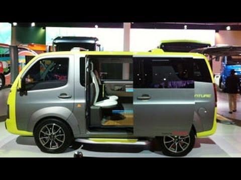 12th Auto Expo 2014  | Tata Venture Concept Car