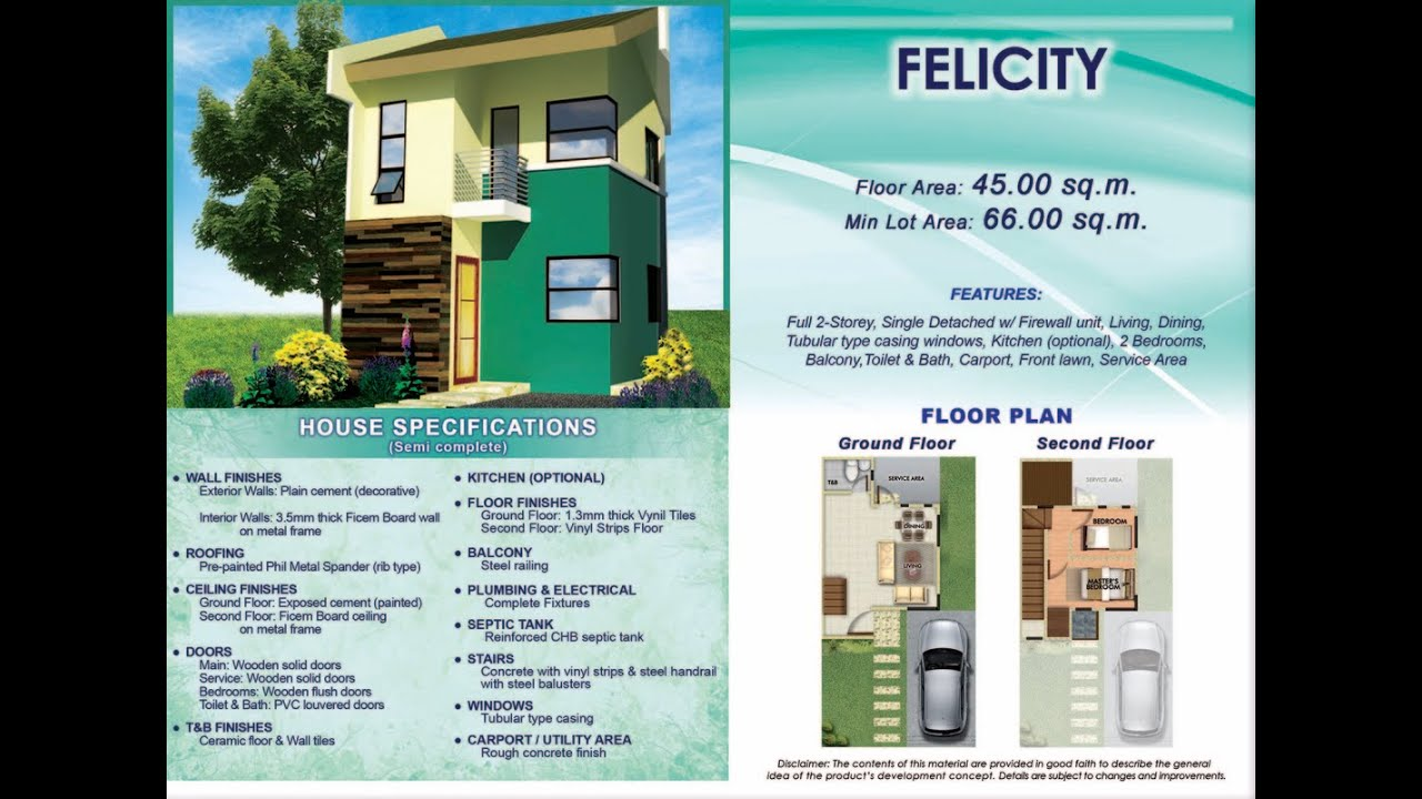 Felicity Model House for Sale Affordable Rent to Own House and