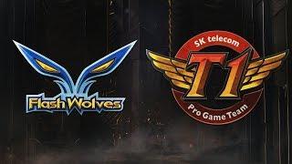 MSI 2019: Fase de Grupos - Dia 4 | Flash Wolves x SK telecom T1 (13/05/2019)