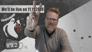 New Collaborations and our live hangout on Sunday 11.11.2018 - WW2 Cribs 181105