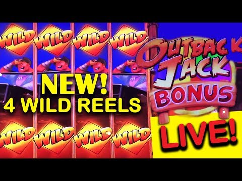 ⚠️NEW⚠️ OUTBACK JACK SLOT ? - MAX BET! - LIVE! - Slot Machine Bonus - 동영상