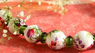How To DIY Beads Made Of Cloth - DIY Crafts Tutorial - Guidecentral