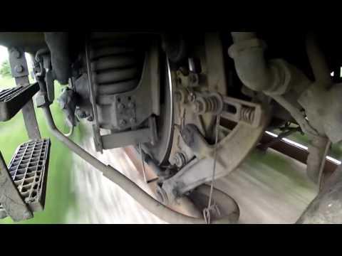 Испытание колесных пар и тормозов на скорости 100 км/ч