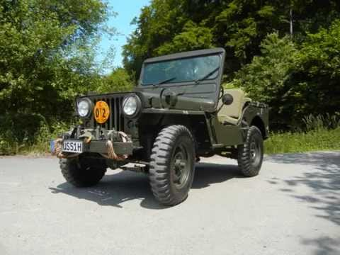 Willys Jeep M38 Ramsey Winch Youtube