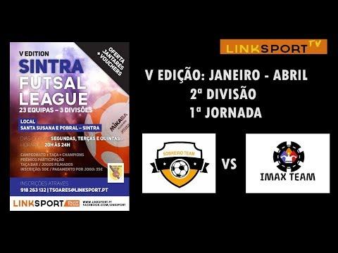 V Edição Sintra Futsal League 2ªDiv 1ªJorn Sobreiro B vs Imax Team 5-1