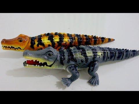 Mainan buaya lucu (Crocodile toys)